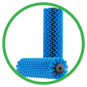 Blue CRB cleaning brush