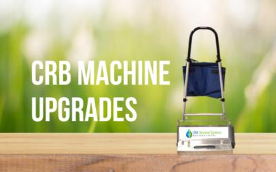 CRB Machine Upgrades