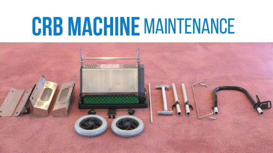CRB Machine Maintenance