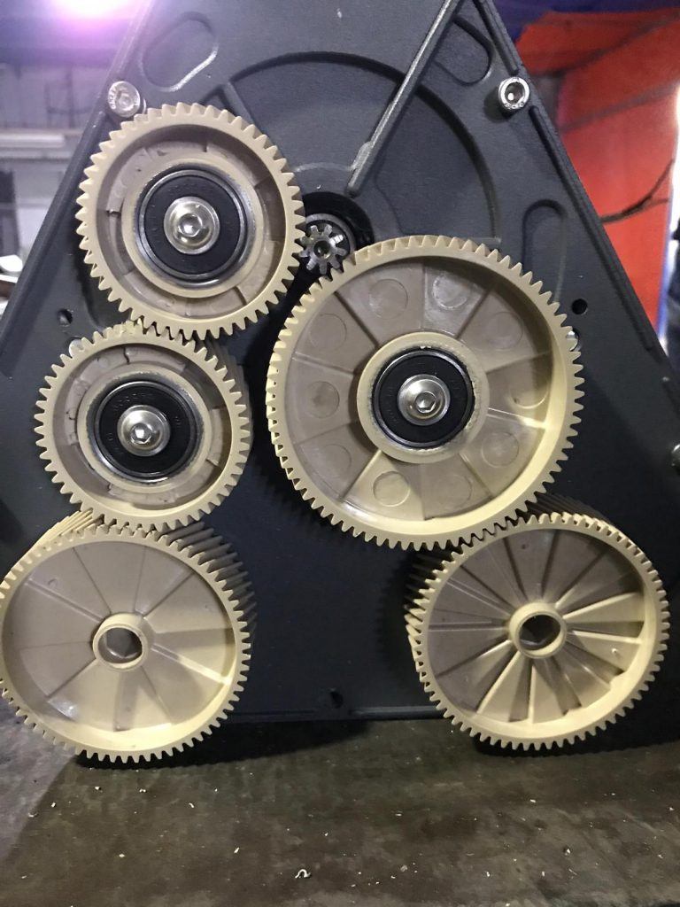 CRB machine gears