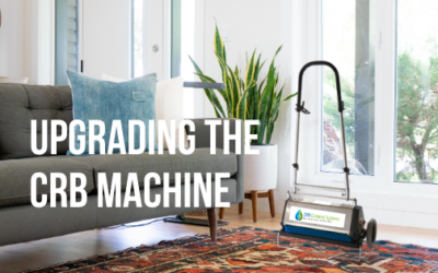 Upgrading the CRB Machine